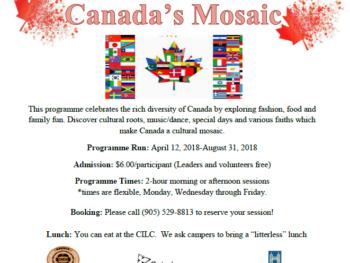 Canada's Mosaic!