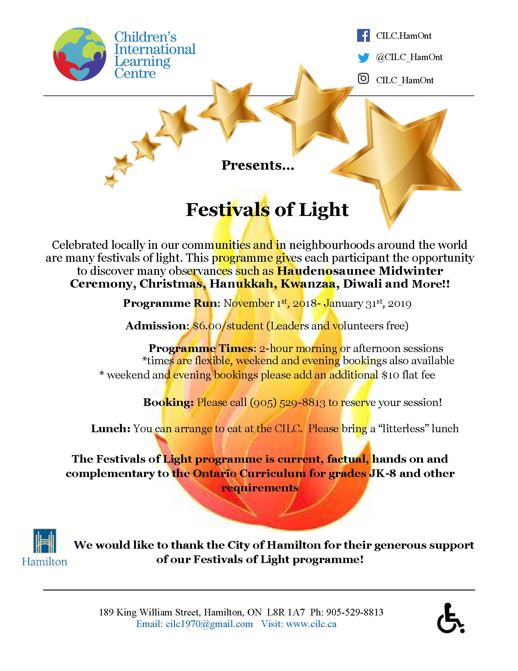 Festival of Lights 2018-2019
