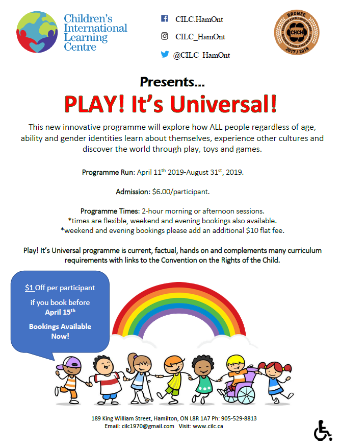 PLAY! It's Universal (flyer only)