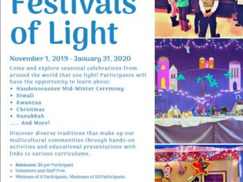 Open House and Bake Sale – Festival of Lights 2019-20!