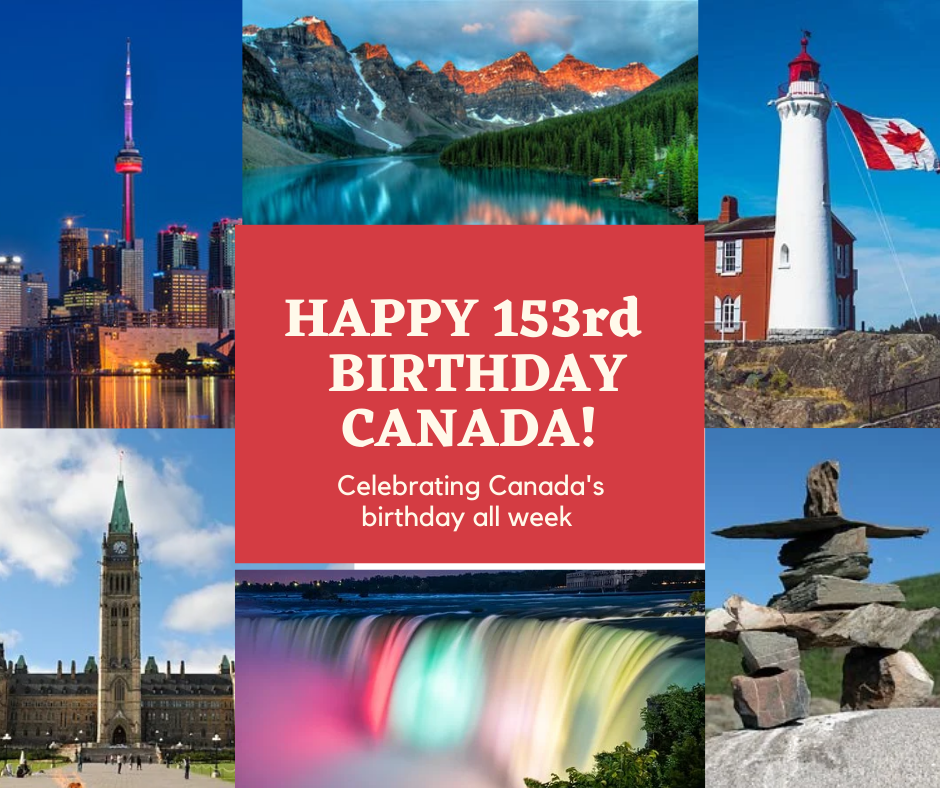 Canada's Birthday Poster