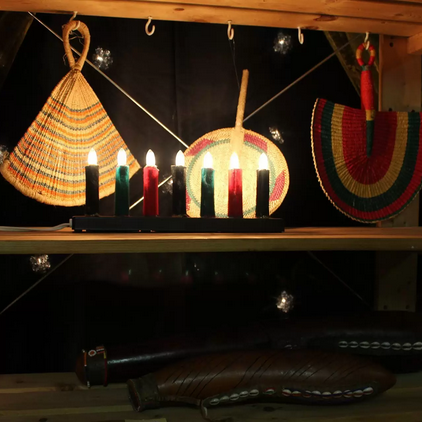 A Kwanzaa display from the CILC